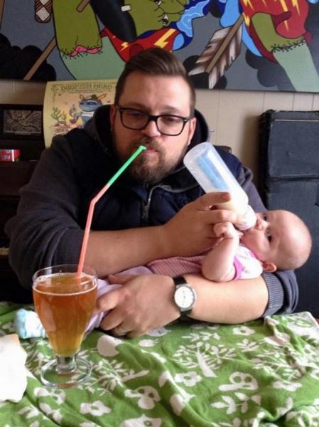 54 смешных причины, почему не стоит оставлять детей с папой