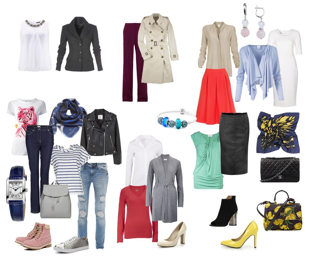 Одежда для женщин: правила составления гардероба