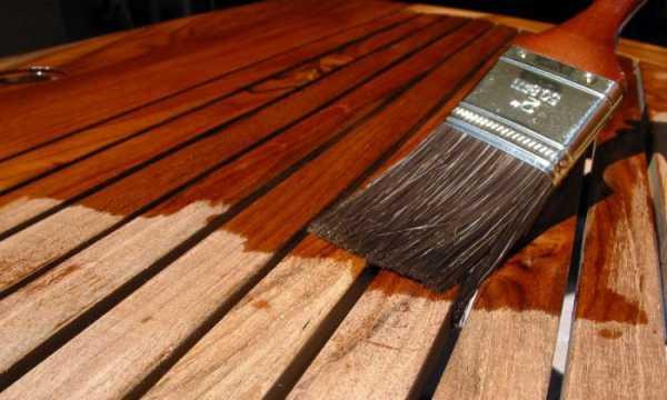 Какие защитные масла используют для пропитки древесины?